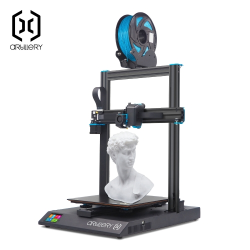 Artillery® Sidewinder X1 3D Printer 300x300x400mm Large Plus Size High Precision Dual Z axis SW-X1 TFT Touch Screen V4 version